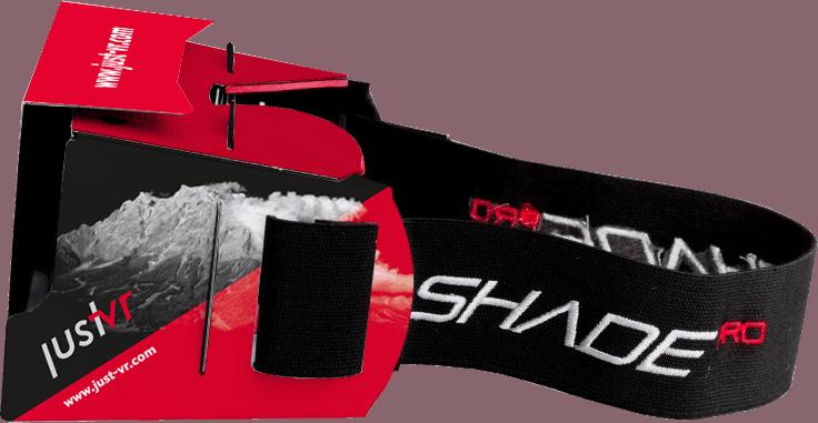 ShadePro - VR-Cardboard mit Kopfband