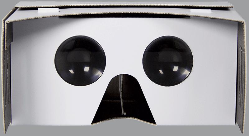 Shade VR-Cardboard mit extra großen Linsen für eine vollendete VR-Erfahrung